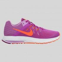 Damen & Herren - Nike Wmns Zoom Winflo 2 Vivid lila Hyper Orange Weiß