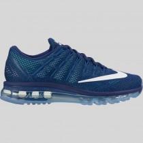 Damen & Herren - Nike Wmns Air Max 2016 Loyal Blau Summit Weiß Fountain Blau