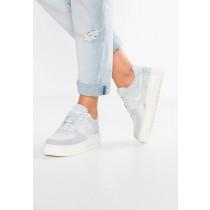 Nike Air Force 1 Upstep Prm Schuhe Low NIKkw1m-Weiß