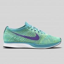 Damen & Herren - Nike Flyknit Racer Sport Turquoise Hyper Traube