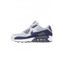 Nike Air Max 90 Essential Schuhe Low NIK3e9r-Grau