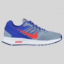 Damen & Herren - Nike Air Relentless 5 MSL Blau Grau Total Karmesinrot
