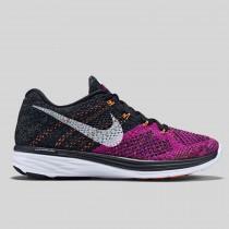 Damen & Herren - Nike Wmns Flyknit Lunar3 Schwarz Fuchsia Flash