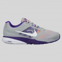 Damen & Herren - Nike Wmns Tri Fusion Run MSL Wolf Grau Force lila