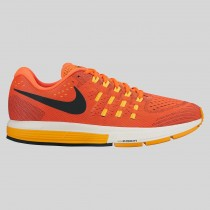 Damen & Herren - Nike Air Zoom Vomero 11 Total Karmesinrot Schwarz Laser Orange