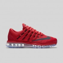 Damen & Herren - Nike Air Max 2016 Universität Rote Schwarz Gym Rote