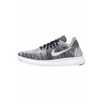 Nike Performance Free Run Flyknit 2 Schuhe Low NIKi3tl-Schwarz
