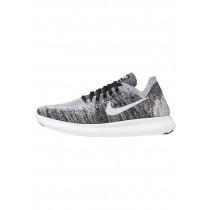 Nike Performance Free Run Flyknit 2 Schuhe Low NIKi3tl-Schwarz