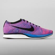 Damen & Herren - Nike Flyknit Racer Spiel Königlich Pink Flash