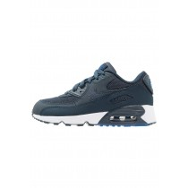 Nike Air Max 90 Schuhe Low NIKgq2h-Blau