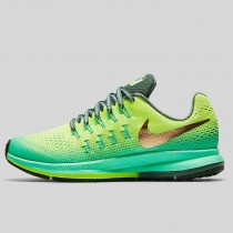Damen & Herren - Nike Zoom Pegasus 33 Shield (GS) Volt Metallisch Rote Bronze Hasta