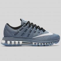 Damen & Herren - Nike Wmns Air Max 2016 Blau Grau Weiß Schwarz Dunkel lila Staub