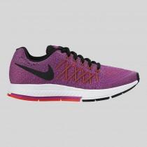 Damen & Herren - Nike Zoom Pegasus 32 (GS) Vivid lila Schwarz Hell Karmesinrot