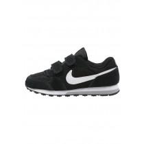 Nike Md Runner 2 Schuhe Low NIK70js-Schwarz