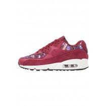 Nike Air Max 90 Se Schuhe Low NIKlanc-Rot