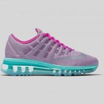Damen & Herren - Nike Air Max 2016 (GS) Urban Lilac Spiegeln Silber Hyper Violet