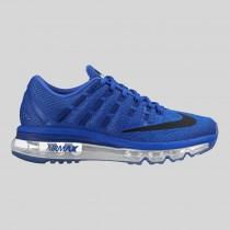 Damen & Herren - Nike Air Max 2016 (GS) tief Königlich Blau Schwarz Racer Blau