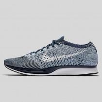 Damen & Herren - Nike Flyknit Racer Blau Tint