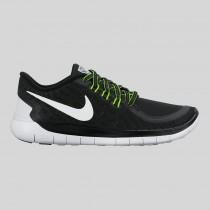 Damen & Herren - Nike Free 5.0 Flash (GS) Schwarz Spiegeln Silber