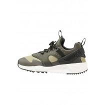 Nike Air Huarache Utility Schuhe Low NIK4dou-Grün