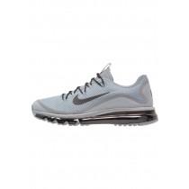 Nike Air Max More Schuhe Low NIKbz3r-Grau