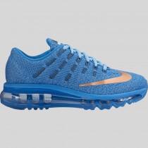 Damen & Herren - Nike Air Max 2016 (GS) Star Blau Metallisch Rote Bronze