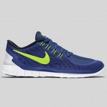 Damen & Herren - Nike Free 5.0 tief Königlich Blau Voltage Racer Blau