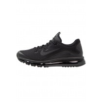 Nike Air Max More Schuhe Low NIKjpqw-Schwarz
