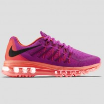 Damen & Herren - Nike Wmns Air Max 2015 lila Pink Flash Hot Lava