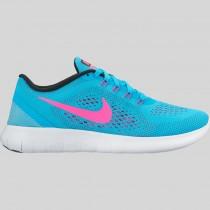 Damen & Herren - Nike Wmns Free RN Gamma Blau Schwarz Pink Blast