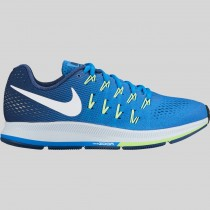 Damen & Herren - Nike Wmns Air Zoom Pegasus 33 Fountain Blau Weiß Coastal Blau