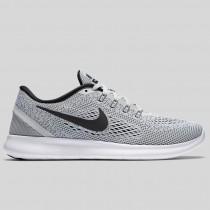 Damen & Herren - Nike Wmns Free RN Weiß Schwarz Rein Platinum