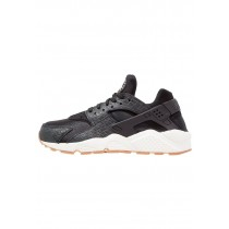 Nike Air Huarache Run Premium Schuhe Low NIKf5tx-Schwarz