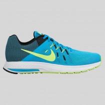 Damen & Herren - Nike Zoom Winflo 2 Blau Lagune Volt Schwarz Weiß