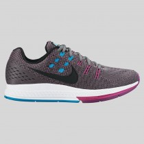 Damen & Herren - Nike Wmns Air Zoom Structure 19 Cool Grau Schwarz Fuchsia Flash
