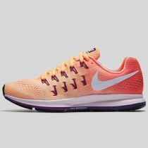 Damen & Herren - Nike Wmns Air Zoom Pegasus 33 Peach Cream Weiß Hell Mango