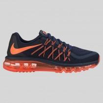 Damen & Herren - Nike Wmns Air Max 2015 Obsidian Hyper Orange