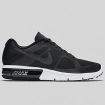 Damen & Herren - Nike Air Max Sequent Schwarz Metallisch Hematite