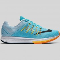 Damen & Herren - Nike Wmns Air Zoom Elite 8 Gamma Blau Schwarz Laser Orange