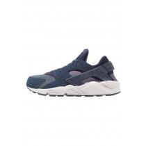 Nike Air Huarache Schuhe Low NIK2ci5-Blau