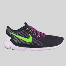 Damen & Herren - Nike Wmns Free 5.0 Schwarz Flash Lime