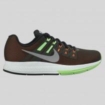 Damen & Herren - Nike Wmns Air Zoom Structure 19 Flash Sequoia Spiegeln Silber