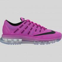 Damen & Herren - Nike Wmns Air Max 2016 Hyper Violet Schwarz Gamma Blau