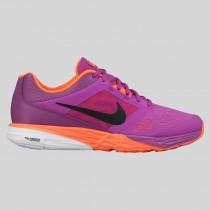 Damen & Herren - Nike Wmns Tri Fusion Run MSL Vivid lila Schwarz Hyper Orange