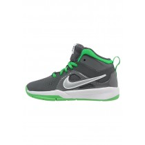 Nike Performance Team Hustle D 6 Schuhe High NIK28qc-Grau