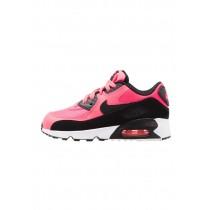 Nike Air Max 90 Mesh (Ps) Schuhe Low NIK5hji-Rosa