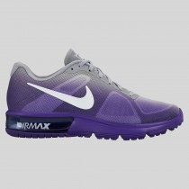 Damen & Herren - Nike Wmns Air Max Sequent Force lila Wolf Grau Fade