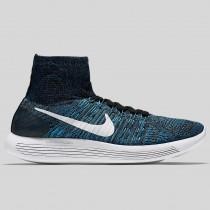 Damen & Herren - Nike Lunarepic Flyknit Multicolor Gamma Blau