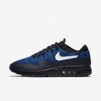 Nike Air Max 1 Ultra Flyknit Sneaker - Dunkler Obsidian/Rennfahrer Blau/Foto