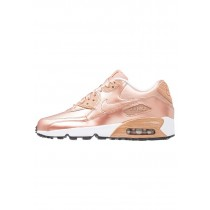 Nike Air Max 90 Se Schuhe Low NIKqy76-Rot